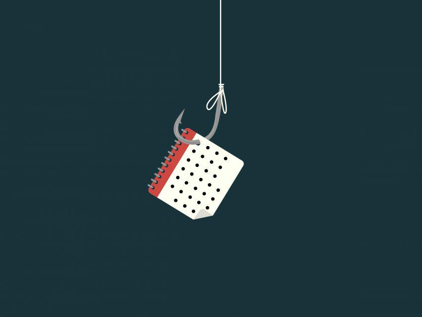 Phishing Google Calendar